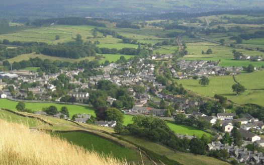 Staveley village